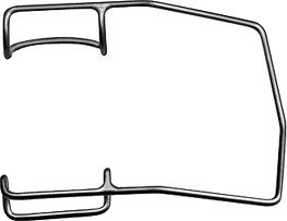 Barraquer Eye Speculum Wire Blade Heavy - E4106 H